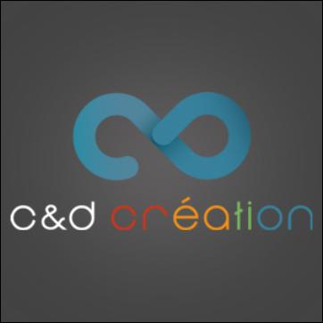 logo c&d création