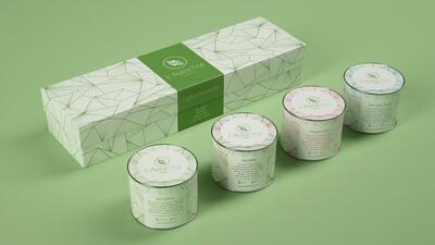 Visuel packaging thé