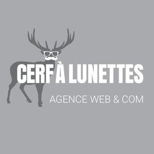 Logo Cerf à lunettes