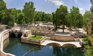 Jardins de fontaine Nîmes