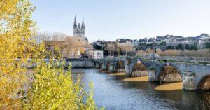 La ville d'Angers